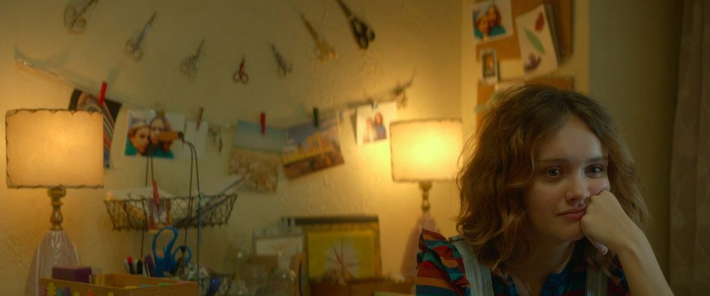 "Olivia Cooke as ""Rachel"" in ME AND EARL AND THE DYING GIRL. Photo coutesy of Fox Searchlight Pictures. © 2015 Twentieth Century Fox Film Corporation All Rights Reserved"